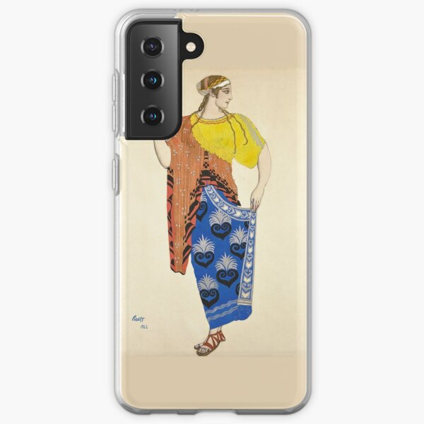 Ancient Greek Costume Painting Samsung Galaxy Soft Case