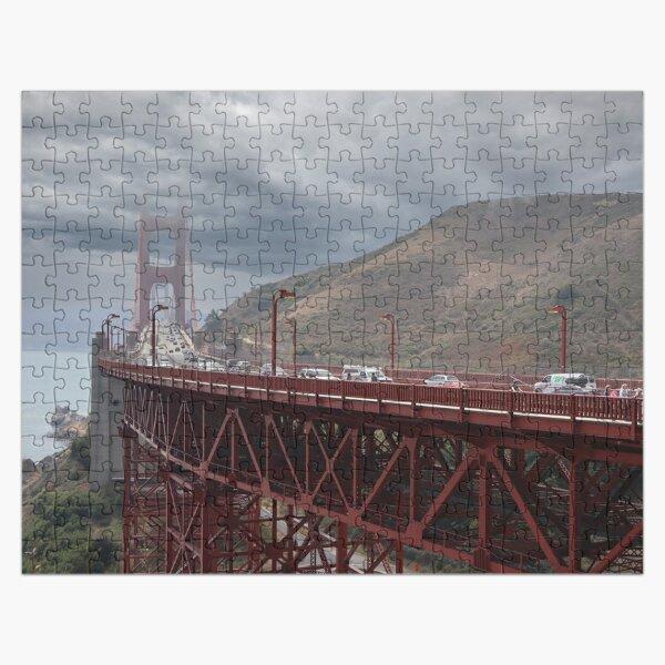 Gloomy Golden Gate Bridge Jigsaw Puzzle
