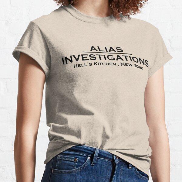 Alias Investigations Logo Classic T-Shirt