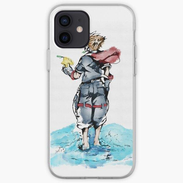 Watercolour Sora iPhone Soft Case