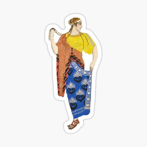 Ancient Greek Costume Painting 2.0 Sticker