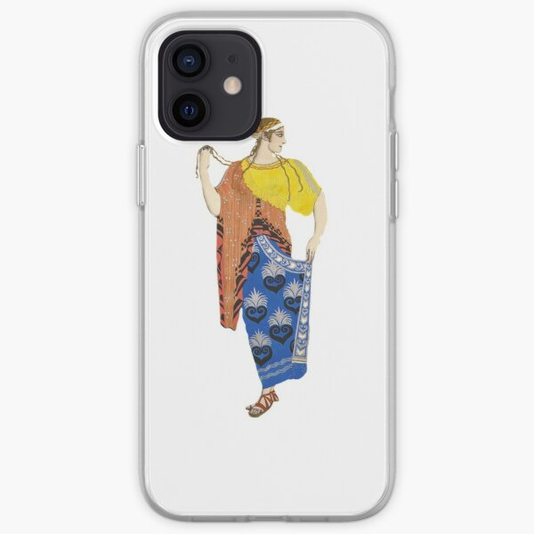 Ancient Greek Costume Painting 2.0 iPhone Soft Case