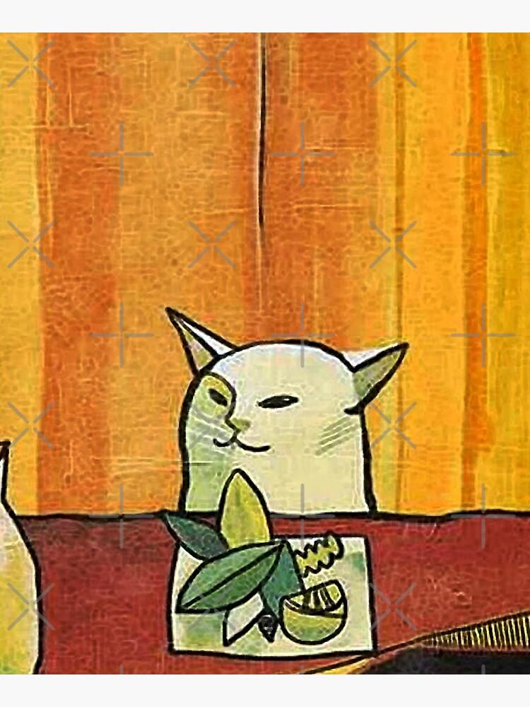 Picasso Cat Meme Paint by PotatoGear