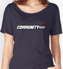 Community G.I Joe Women's Relaxed Fit T-Shirt