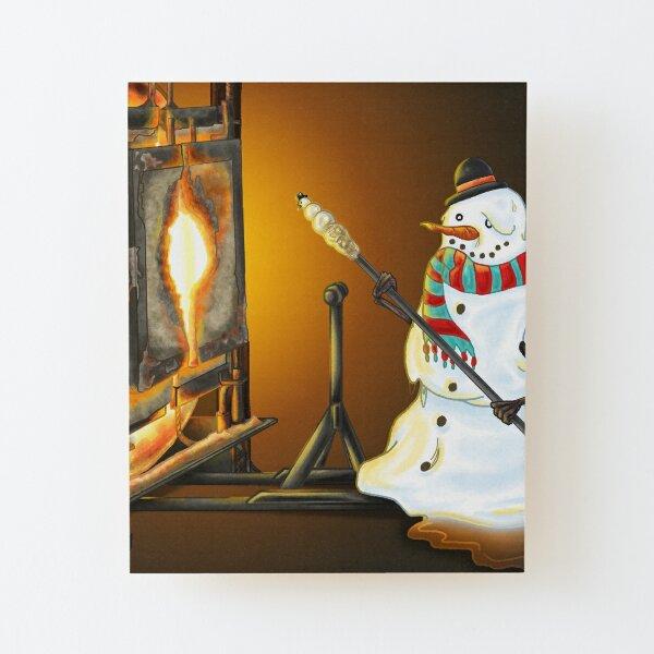 Snowgaffer's Resolve Wood Mounted Print