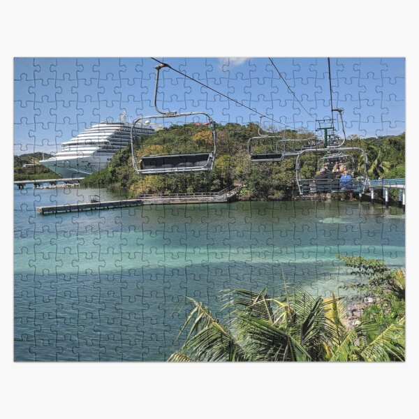 Chairlift to Paradise Jigsaw Puzzle