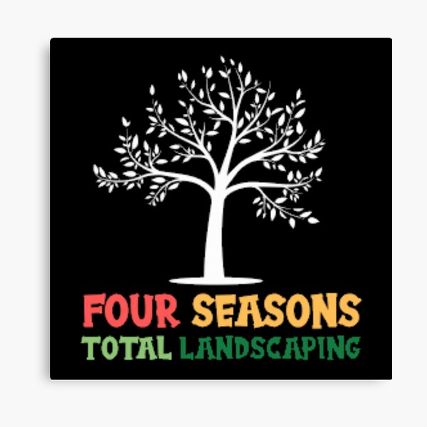 Four Seasons Total Landscaping  Canvas Print