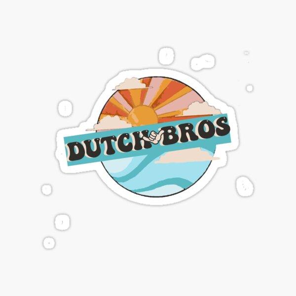 Dutch Bros 70s  Sticker