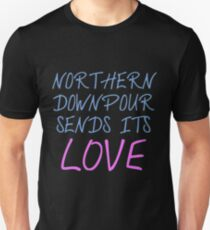 P!ATD/Music - Northern Downpour Sends Its Love Unisex T-Shirt