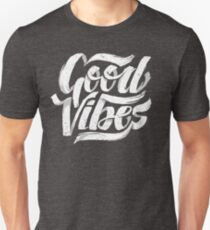 Good Vibes - Feel Good T-Shirt Design Slim Fit T-Shirt