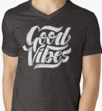 Good Vibes - Feel Good T-Shirt Design Men's V-Neck T-Shirt