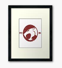 Legendary Thundercats  Framed Print