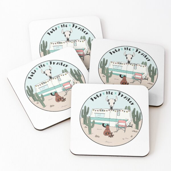 Tula The Trailer  Coasters (Set of 4)