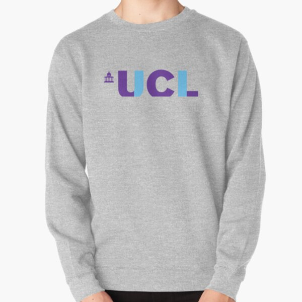"University College London ""UCL"" Text Pullover Sweatshirt"