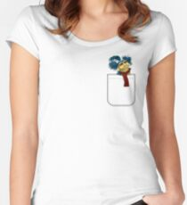 Say 'Allo To My Little Friend Women's Fitted Scoop T-Shirt