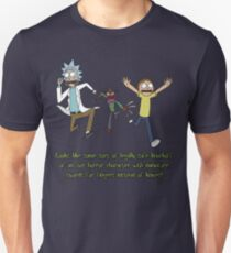 Rick and Morty – Looks Like an '80s Knockoff Unisex T-Shirt