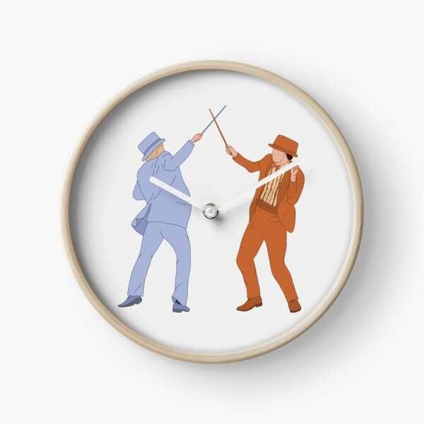 Dumb and Dumber Suits and Canes Clock