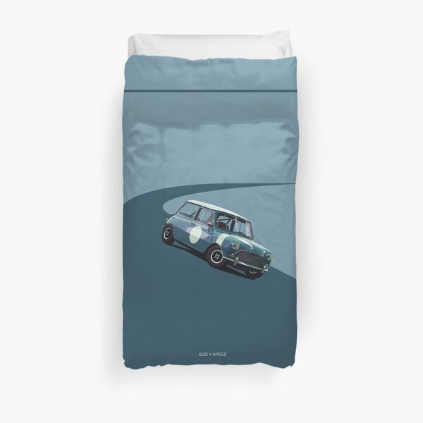 Austin Mini Cooper Duvet Cover