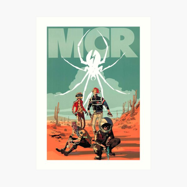 Spider four man Art Print