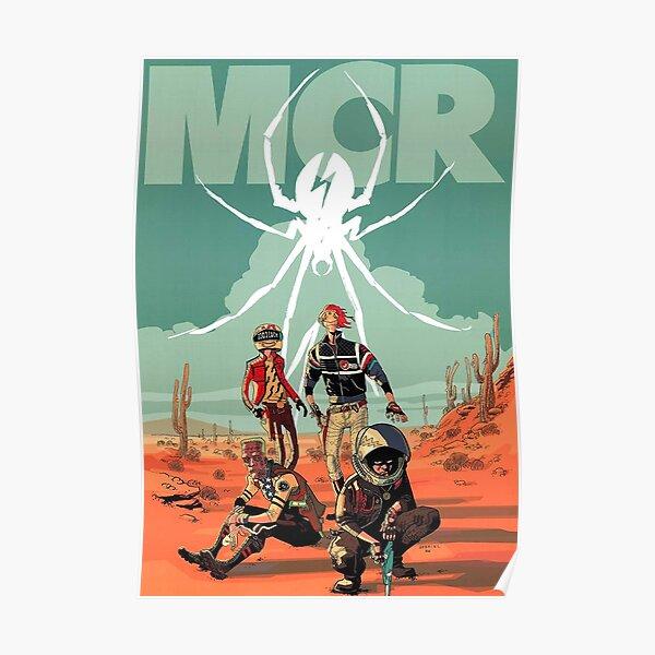 Spider four man Poster