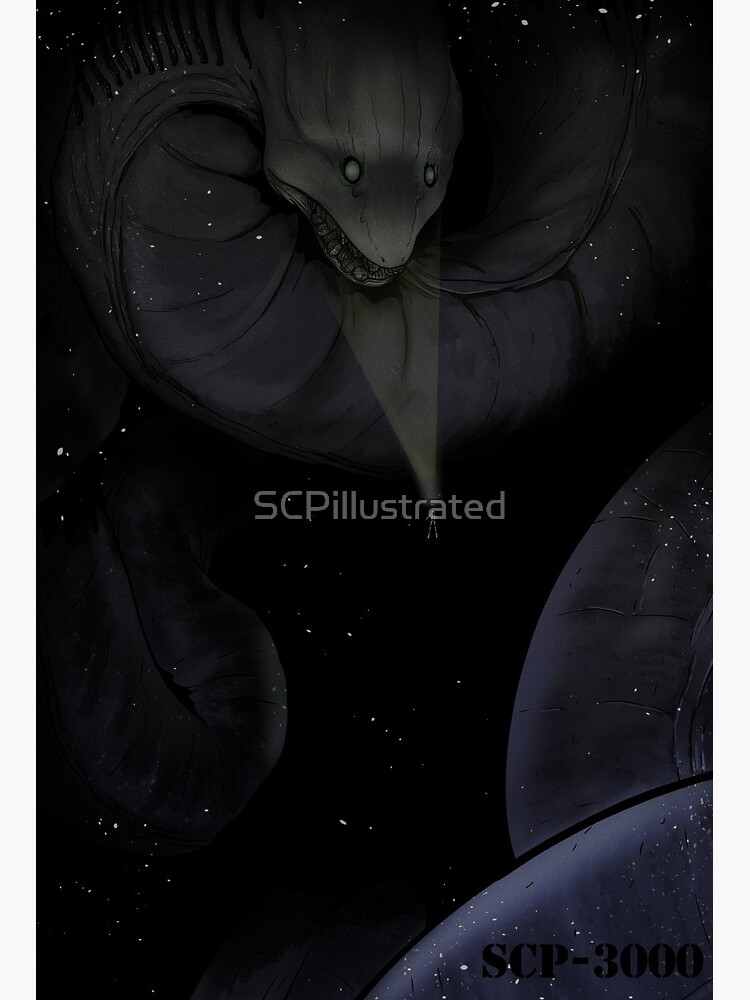 Scp 3000 Ananteshesha Art Board Print By Scpillustrated Redbubble Venkatraman krishnamoorthy had a theory on how the subject is actually the god anantashesha. redbubble