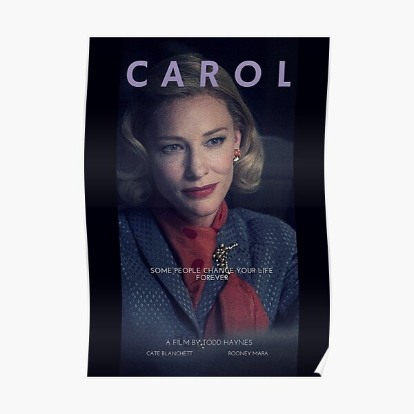 CAROL // Alternative Movie Poster #2 Poster