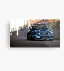 Subaru STi Metal Print
