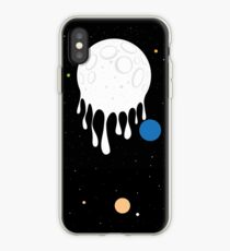 painted moon iPhone Case