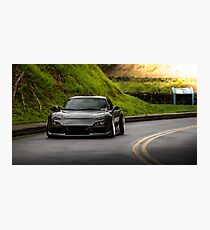 Mazda RX7 in the Mountains Photographic Print