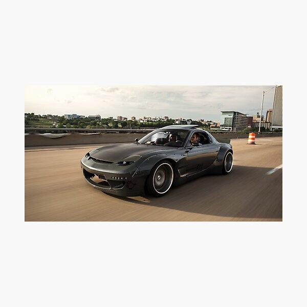 Mazda RX7 Photographic Print