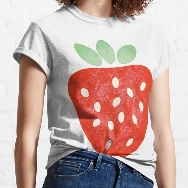 Strawberry in a watercolour style Classic T-Shirt