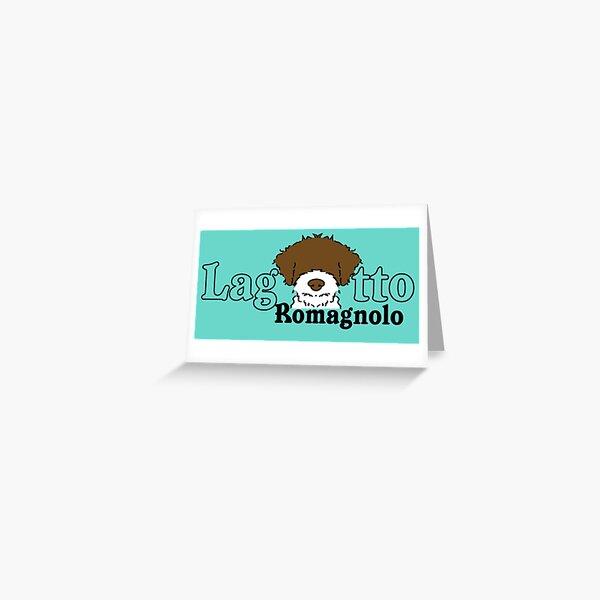 Lagotto Romagnolo Greeting Card