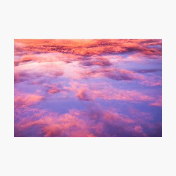 Pink Clouds Beautiful Skyscape Photographic Print
