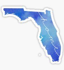 Florida watercolor home Sticker