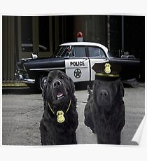 """☞ º°""""˜`""""°☜♥☞ BAD BOYS TAKEN FROM THEME SONG-POLICE DOGS THROW PILLOW ☞ º°""""˜`""""°☜♥☞ Poster"""
