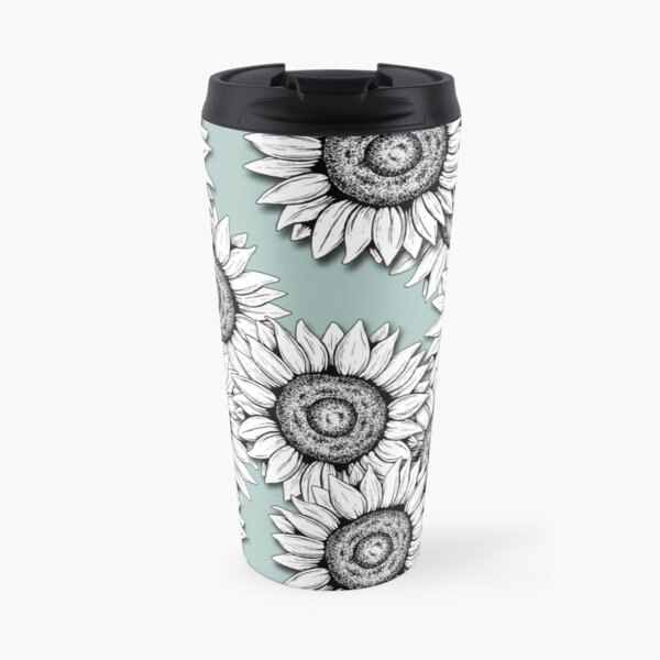 She Was as Wild as the Flowers Travel Mug