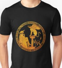 Oedipus and the Sphinx  Unisex T-Shirt