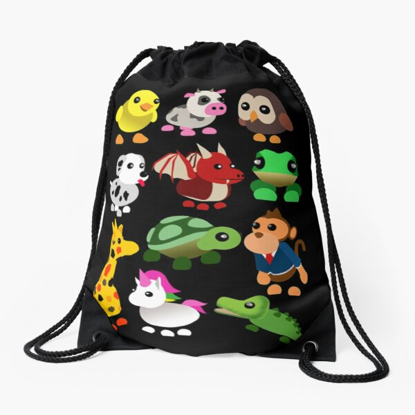 Adopt me Roblox Family Drawstring Bag