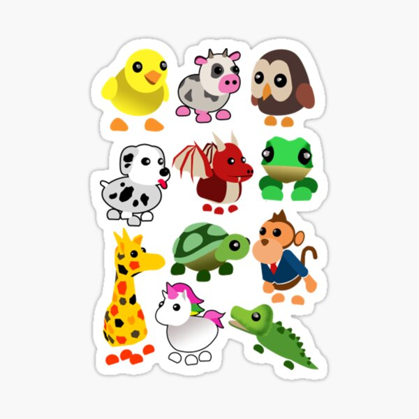 Adopt me Roblox Family Sticker