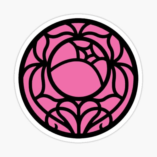 Revolutionary Rose Crest Sticker