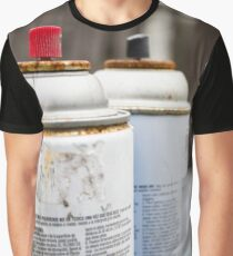 Spray Cans Graphic T-Shirt