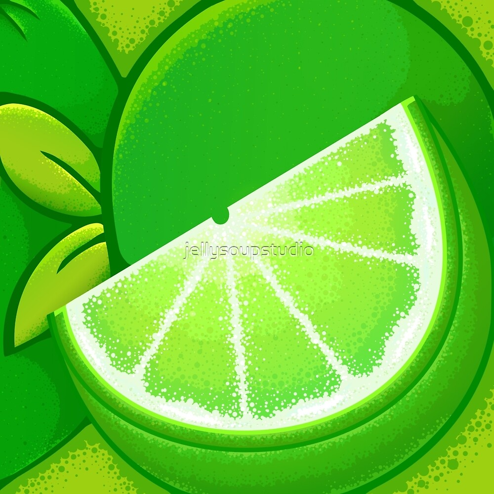 Lime by jellysoupstudio