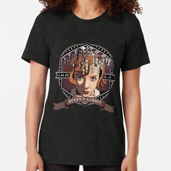Queen's Gambit Tri-blend T-Shirt