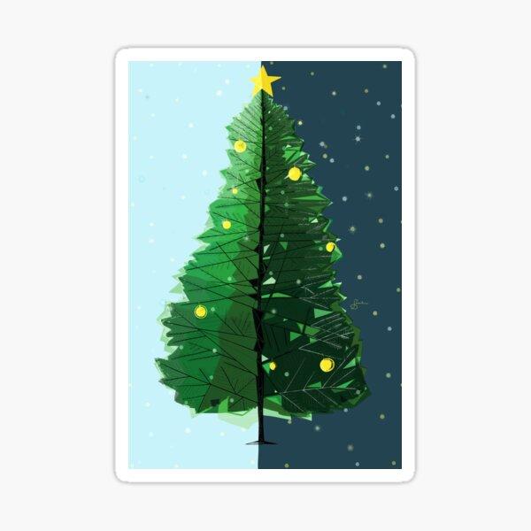 My Edgy Christmas Tree Sticker