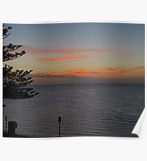 Sunset,  Kangaroo Island, Australia Poster