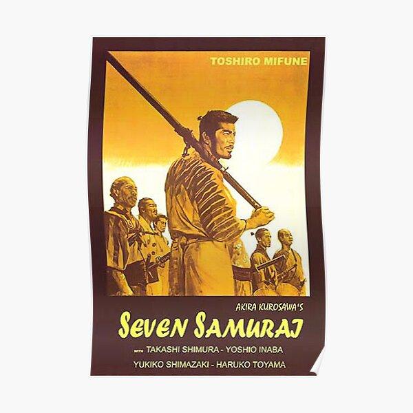 Seven Samurai movie poster Poster