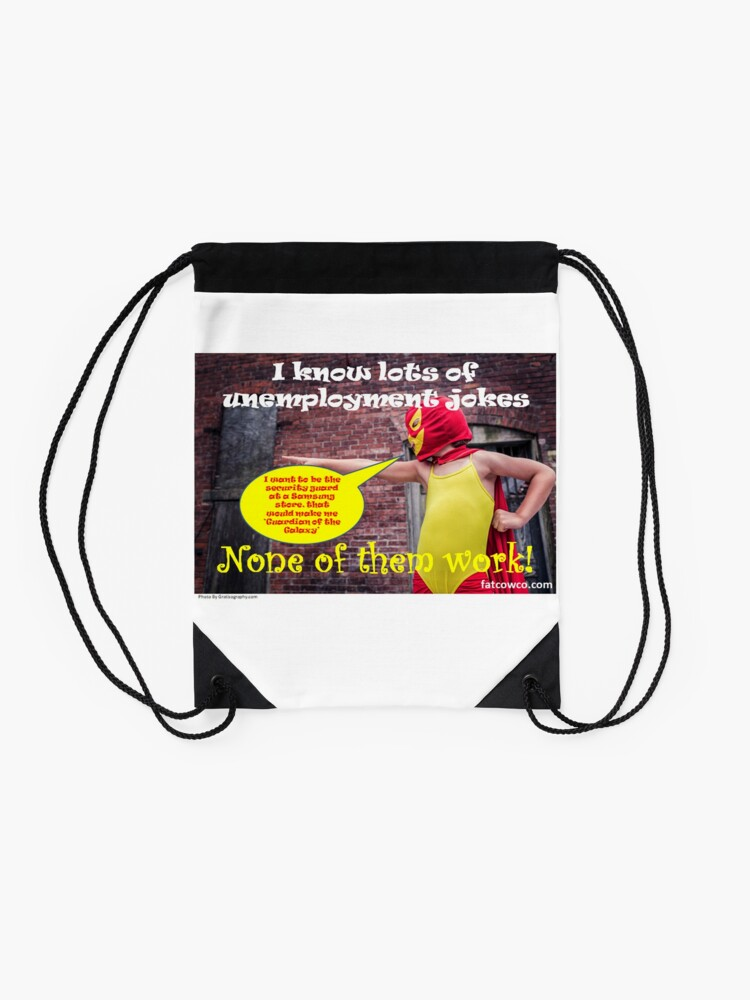 Alternate view of Unemployment Drawstring Bag