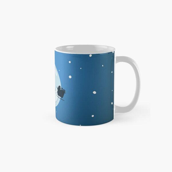 Christmas eve Blue - Aqua Libra  Classic Mug
