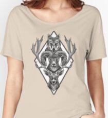 Wolfram Hart (B&W) Women's Relaxed Fit T-Shirt