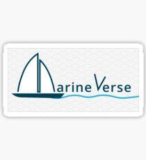 MarineVerse Banner Sticker
